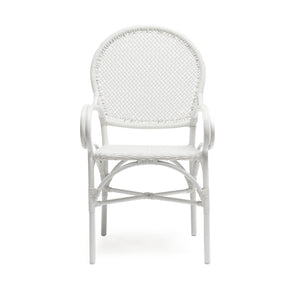 Made Goods Donovan Arm Chair White seating living room chair dining room chair dining chair contemporary chairs chairs seating