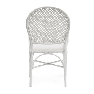 Made Goods Donovan Arm Chair White seating living room chair dining room chair dining chair contemporary chairs chairs seating back