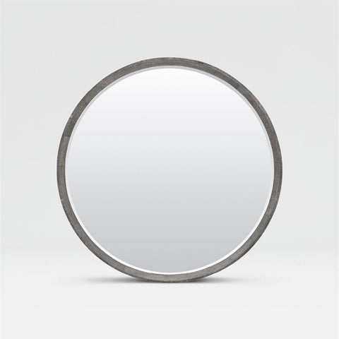 made goods emma mirror cool grey faux shagreeen