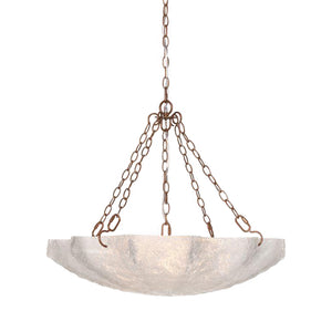 Made Goods Evelyn Chandelier Gold lighting on