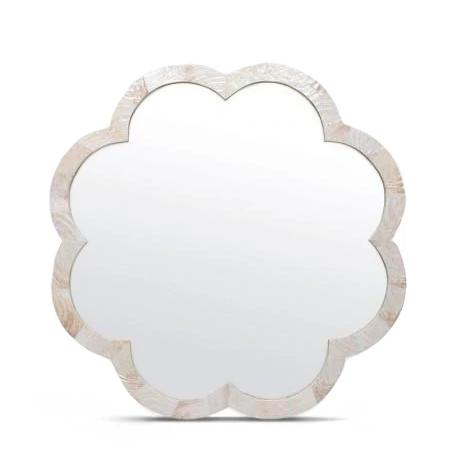 made goods fiona mirror kabibe flower shaped wall decor mirrors decorative mirrors mirrors bathroom mirrors wall mirrors large mirrors