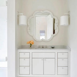 made goods fiona mirror natural bone bathroom mirror