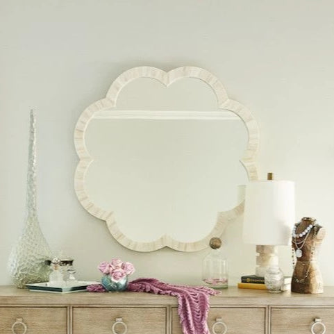 made goods fiona mirror natural bone dresser mirror