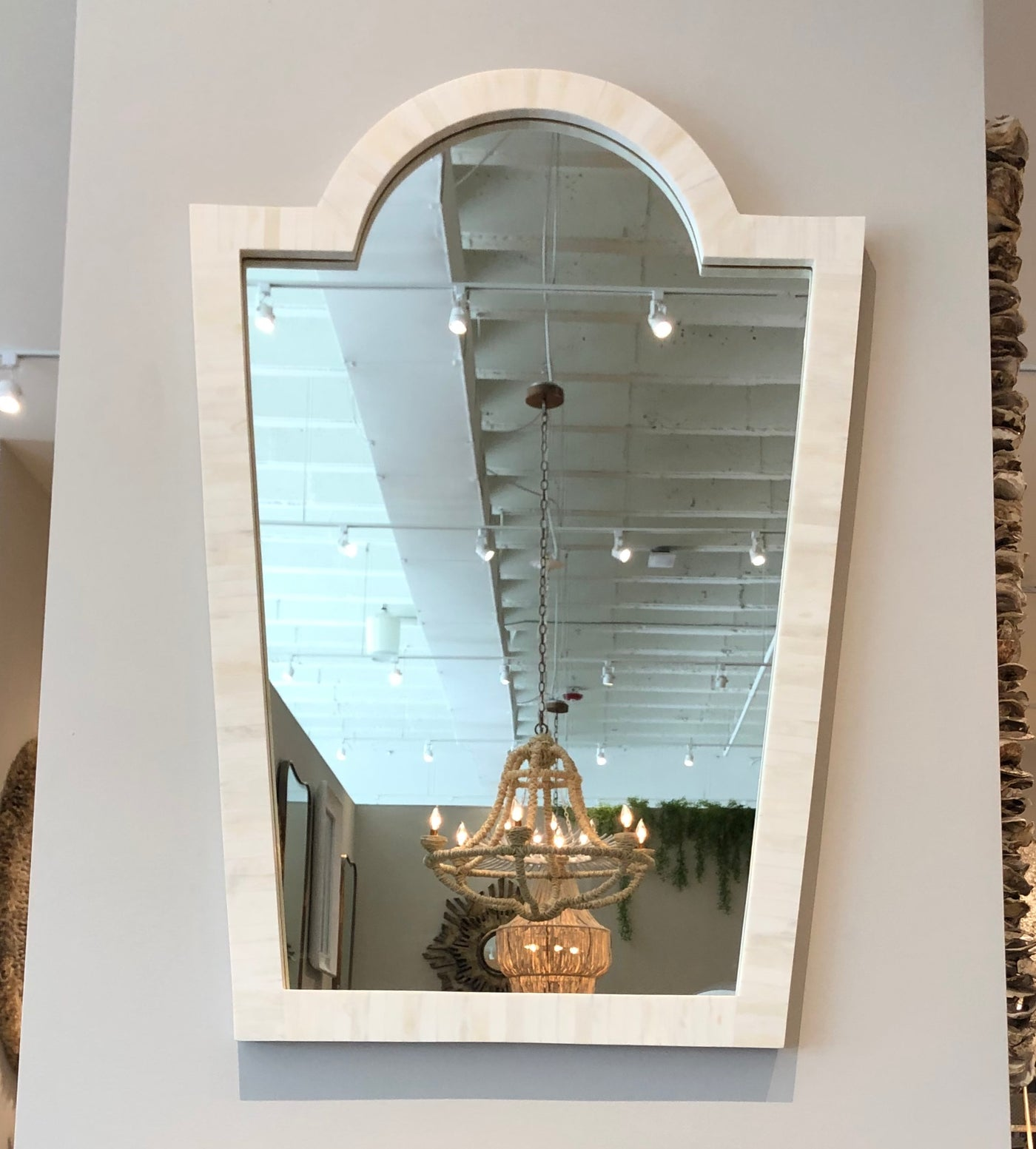 made goods Florence mirror natural bone showroom