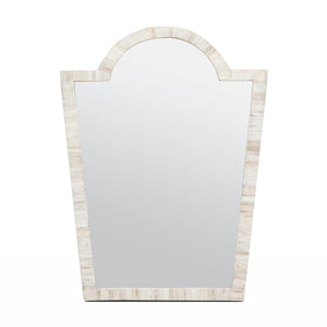 made goods florence mirror natural bone