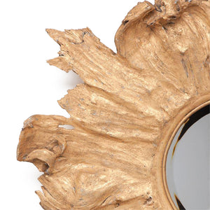 Floris Wall Mirror Gold
