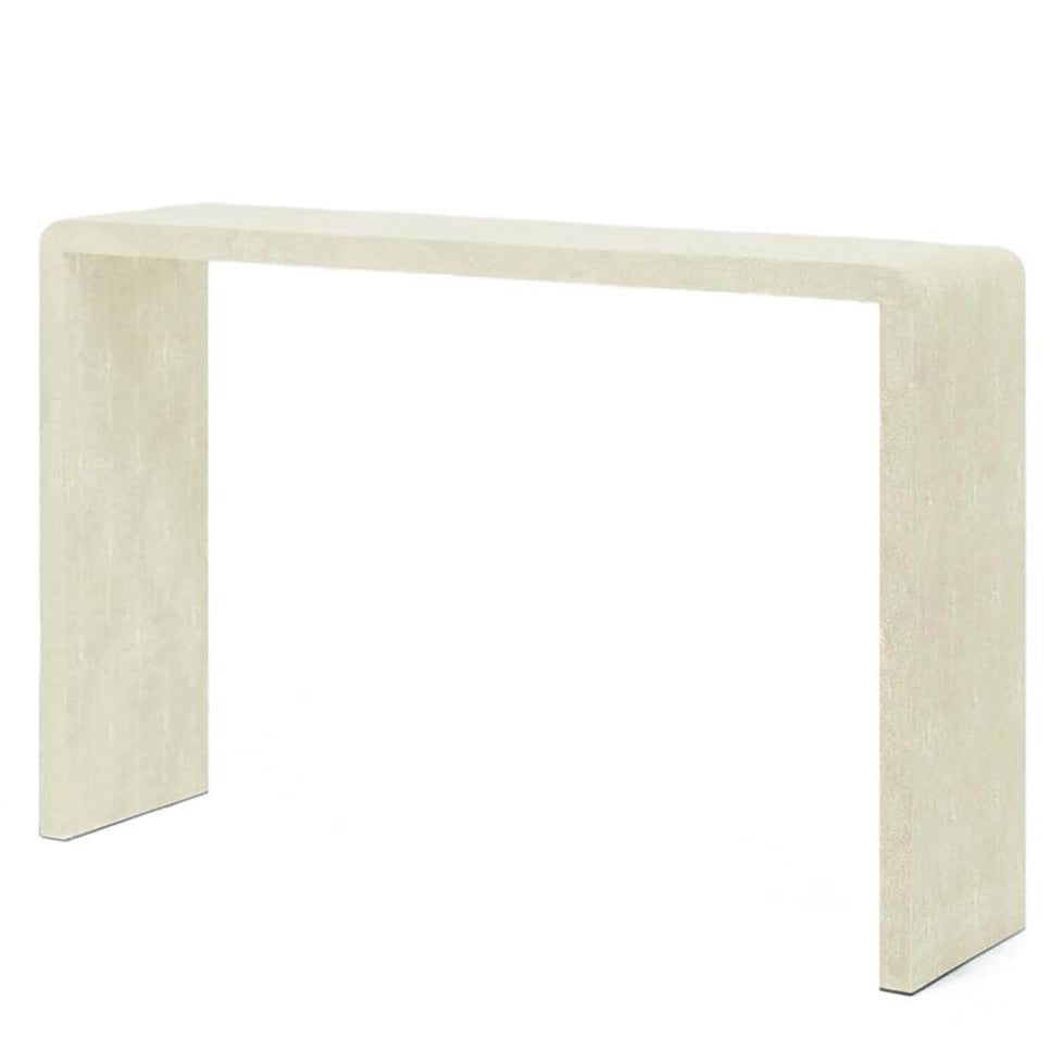 Made Goods Harlow narrow Console Ivory