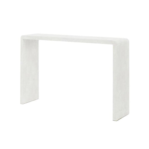 made goods harlow narrow console blanc