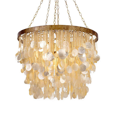 made goods henry chandelier gold