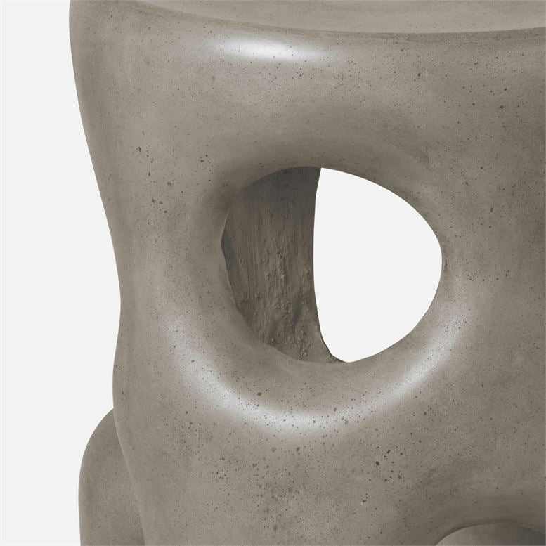 made goods hyde stool gray detail