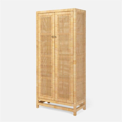 made goods isla cabinet natural peeled rattan