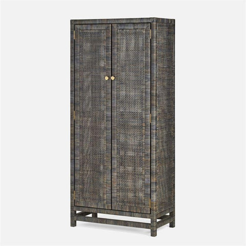 made goods isla cabinet smoke peeled rattan angle