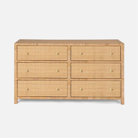 made goods isla dresser large natural rattan