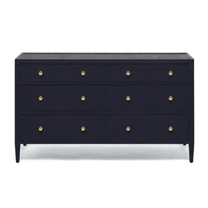made goods jarin 60 dresser dark navy 6 drawers bedroom storage