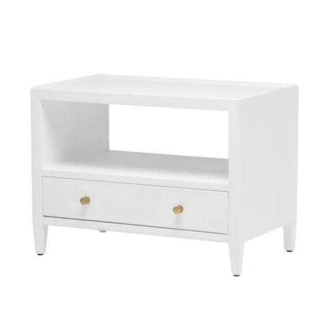 made goods jarin low double nightstand designer white