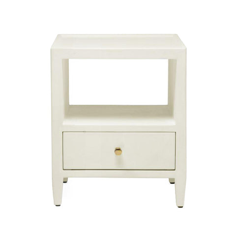 made goods jarin low single nightstand white