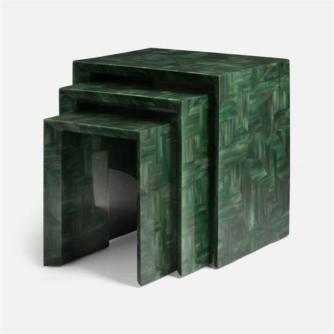 made goods jozlyn nesting tables green