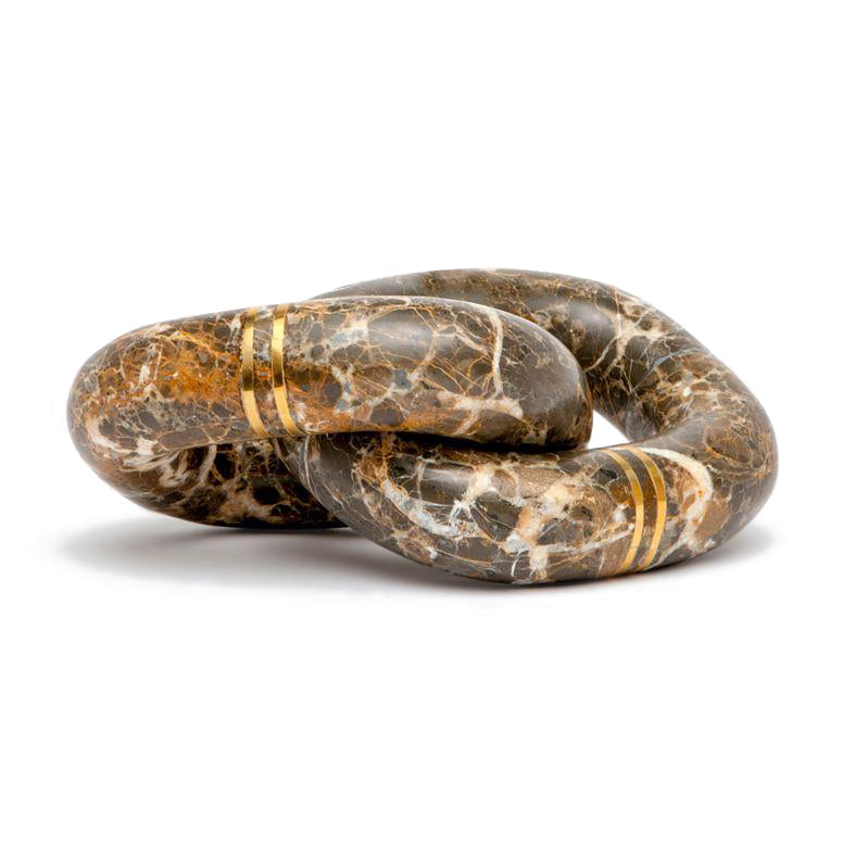 made goods kelton sculpture snake stone