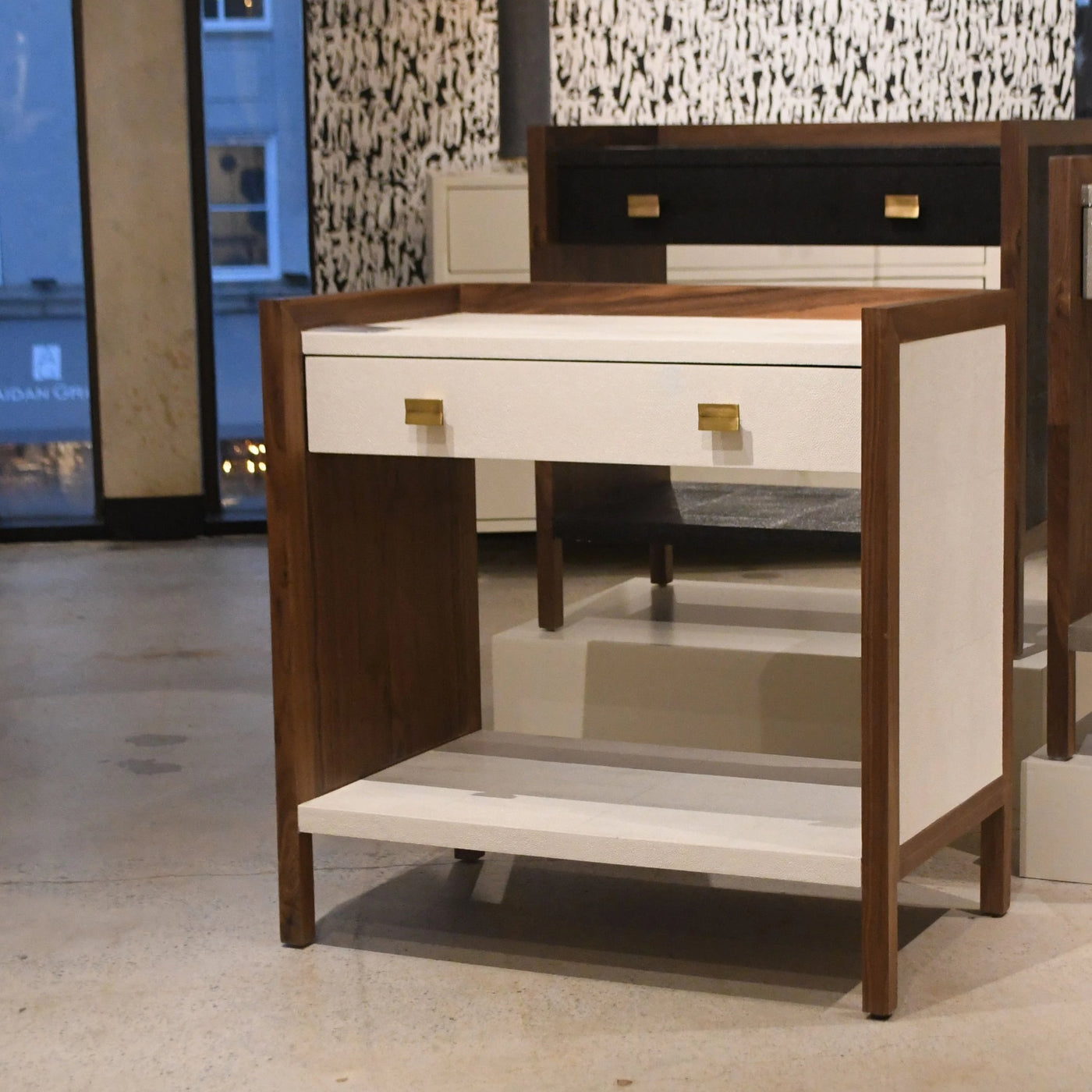 mage goods kennedy double nightstand styled at market