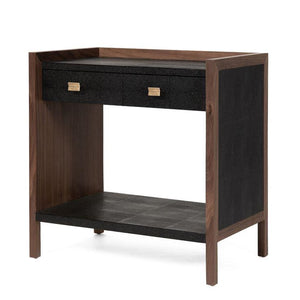 made goods kennedy double nightstand black and walnut