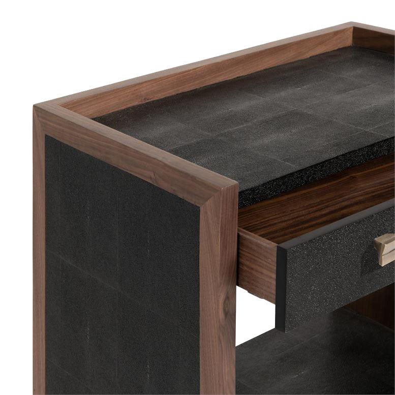made goods kennedy double nightstand black and walnut corner