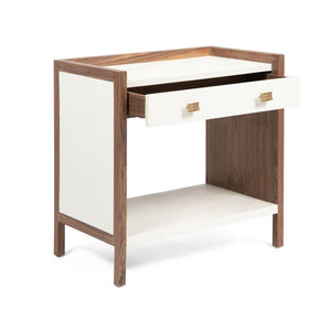 kennedy double nightstand pristine and walnut angle