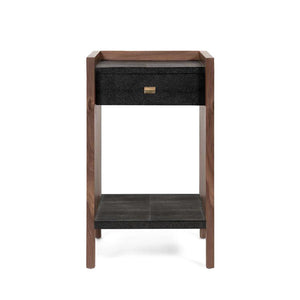 made goods kennedy single nightstand black and walnut