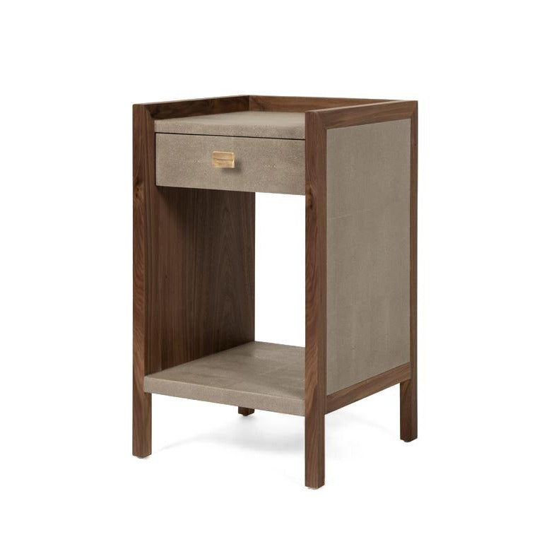 Made goods kennedy single nightstand castor gray angle