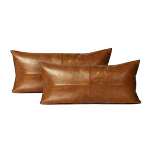 made goods kody lumbar pillow set of two camel
