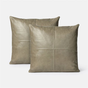made goods kody pillow set strom leather pair