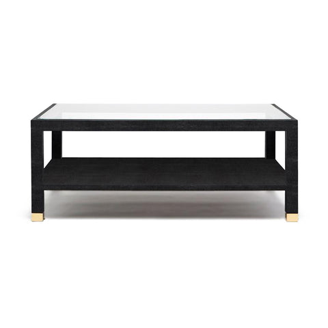 made goods lafeu coffee table rectangle black