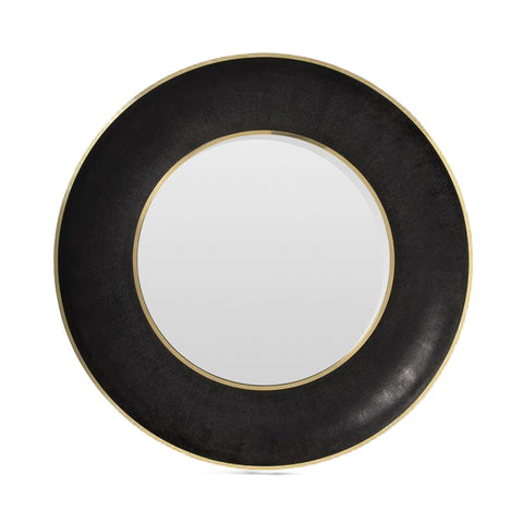 made goods armond mirror black and gold large