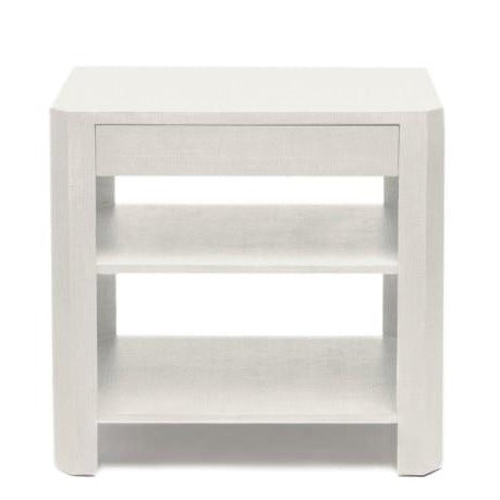 made goods lena double nightstand bed side table Lena Double Nightstand - pristine white