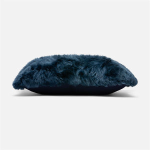 made goods lily lumbar pillow dark navy  side