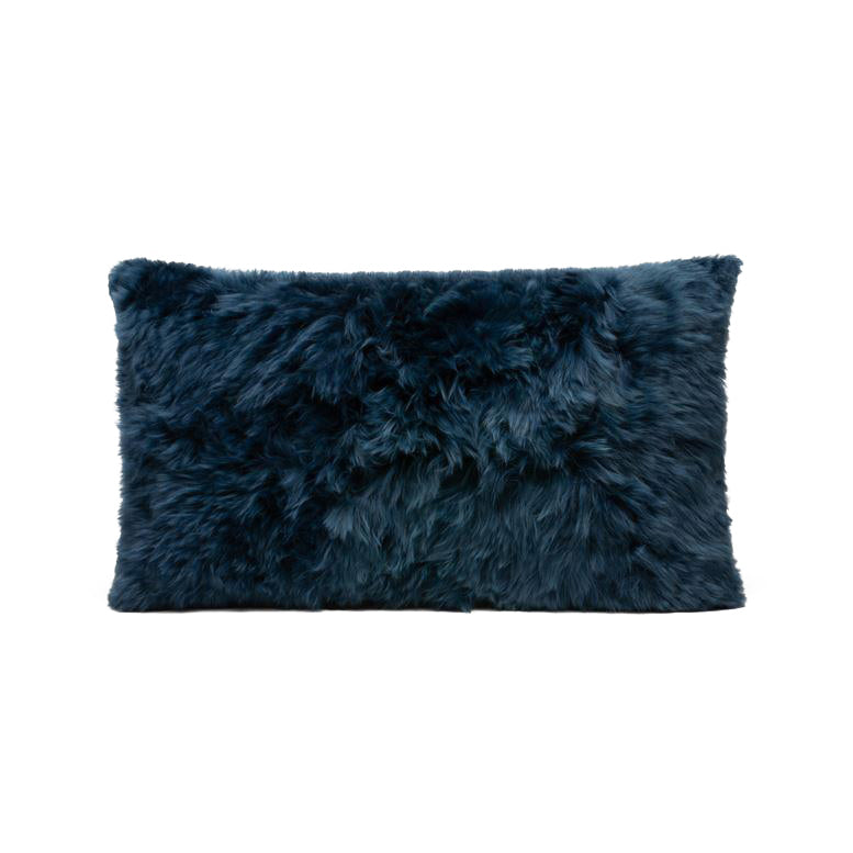made goods lily lumbar pillow dark navy