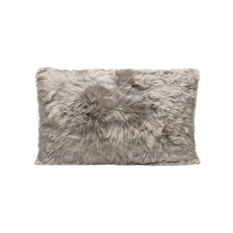 made goods lily lumbar pillow gray alpaca