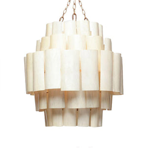 made goods marjorie chandelier cream banana leaf light hanging light fixture chandelier