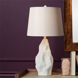 made goods paxton lamp matte white styled