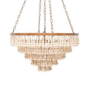 Made Goods Pia Ceiling Chandelier Gold
