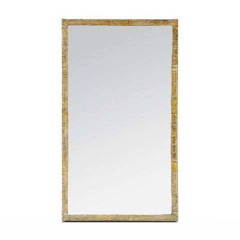 made goods regent mirror etched gold brass