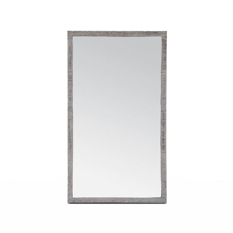 made goods regent mirror silver frame small