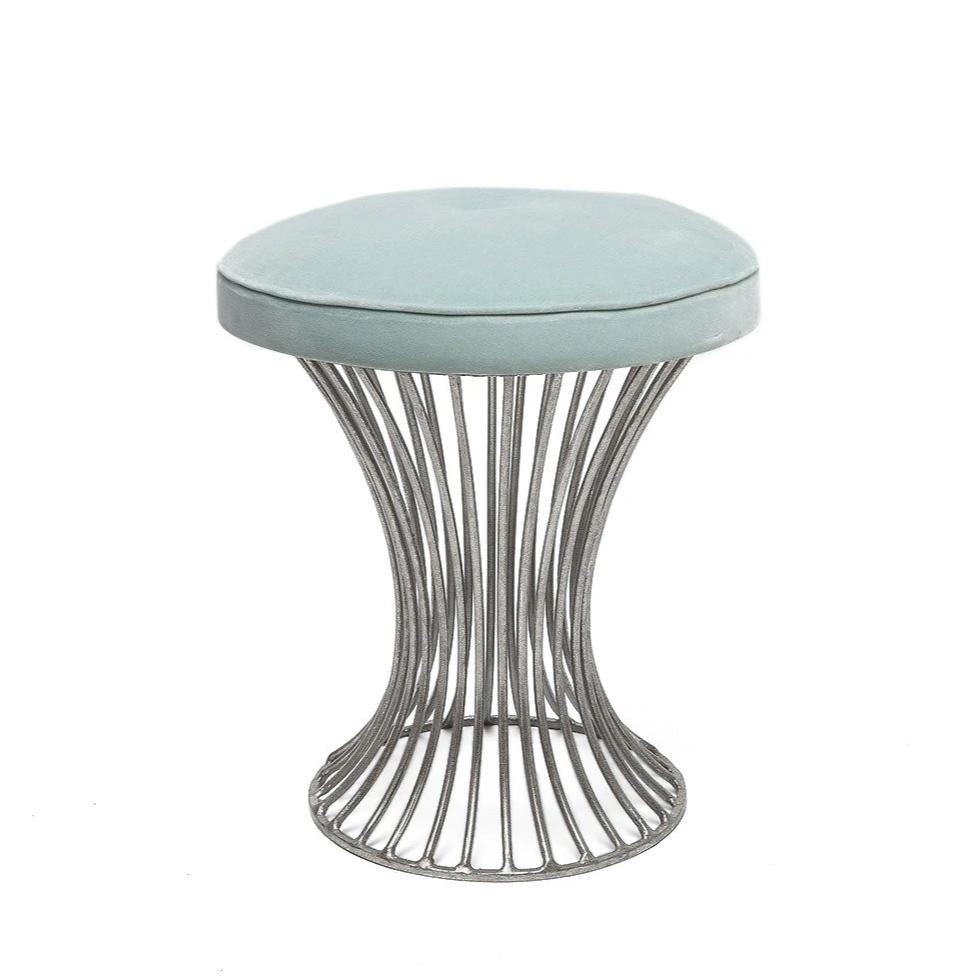 Made Goods Roderic Stool Silver Seating