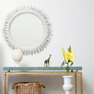 made goods serrat mirror serrated white coral wall mirror decorative mirror wall mirrors unique mirrors bathroom wall mirror