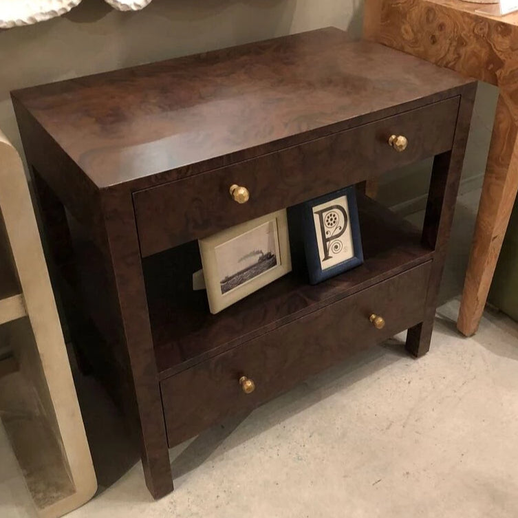 made goods lindsey nightstand walnut shown in room