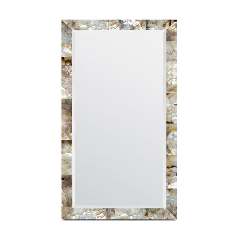 made goods sidney mirror mother of pearl shell