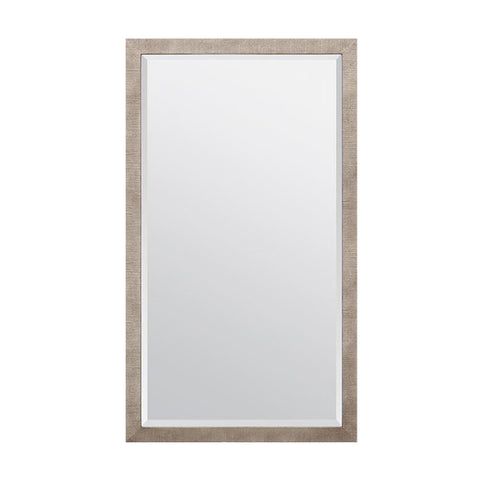 made goods sidney mirror warm faux silver silk