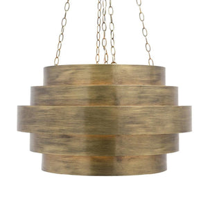made goods thyra chandelier aged gold
