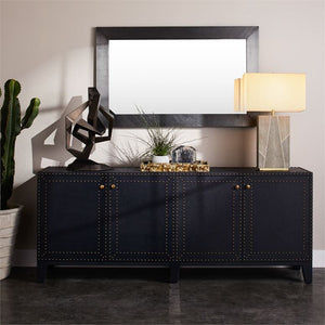 made goods turner 4 door buffet dark navy styled
