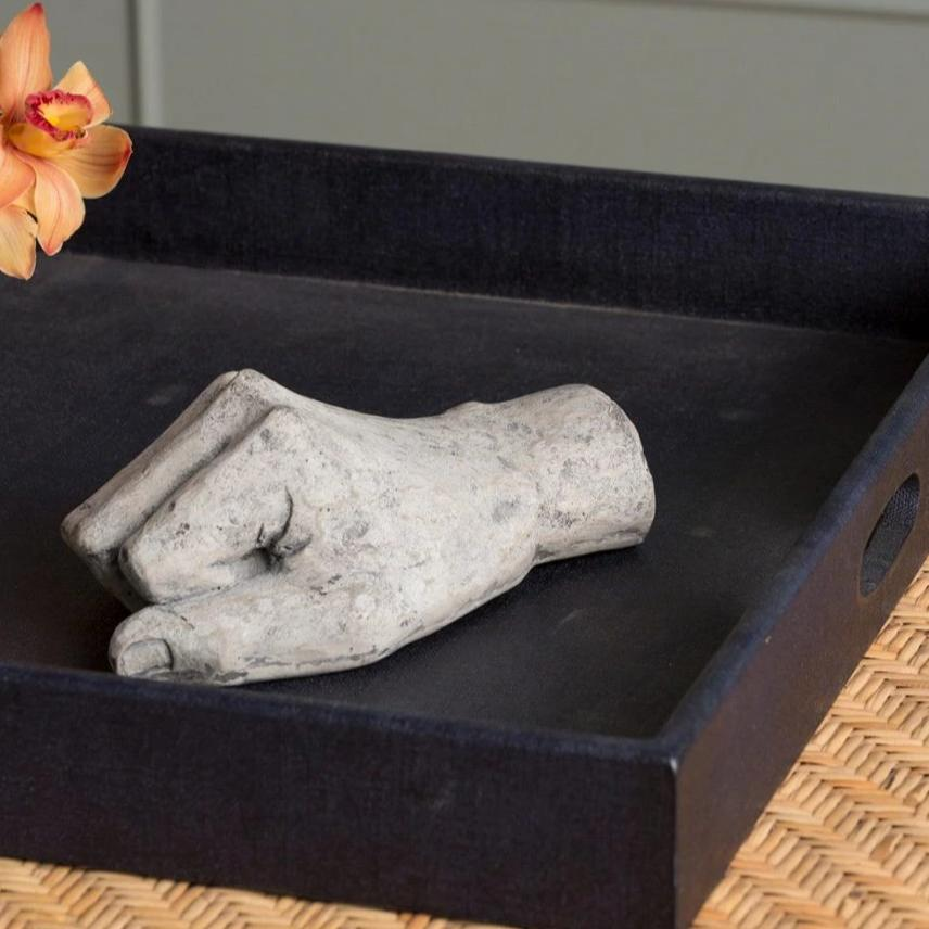 made goods tyce hand object rustic gray