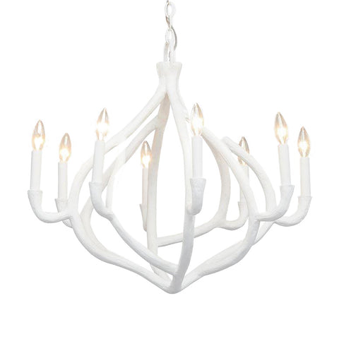 made goods ulla chandelier white